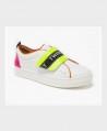 Zapatillas TWINSET blancas Logo Niña 0