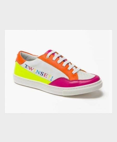 Zapatillas TWINSET Blancas Multicolor Niña