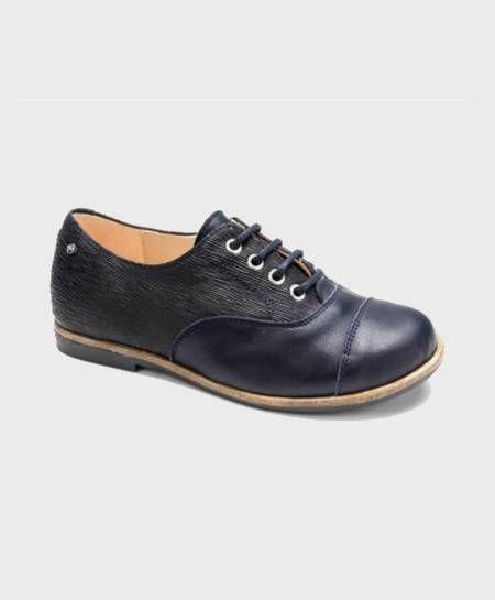 Zapatos Inglés MANUELA DE JUAN Azul Marino para Niño 0 en Kolekole