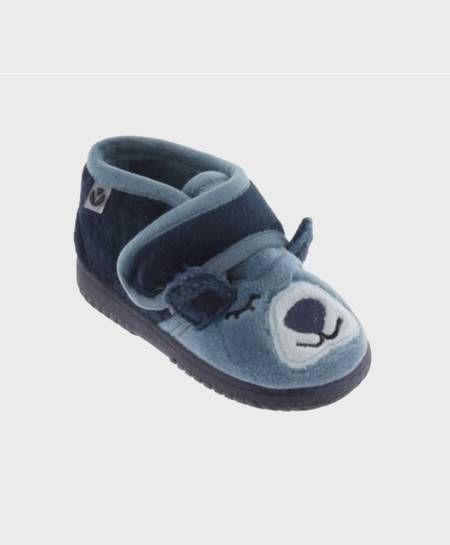 Zapatillas de Casa VICTORIA Osito Azul Niño 0 en Kolekole
