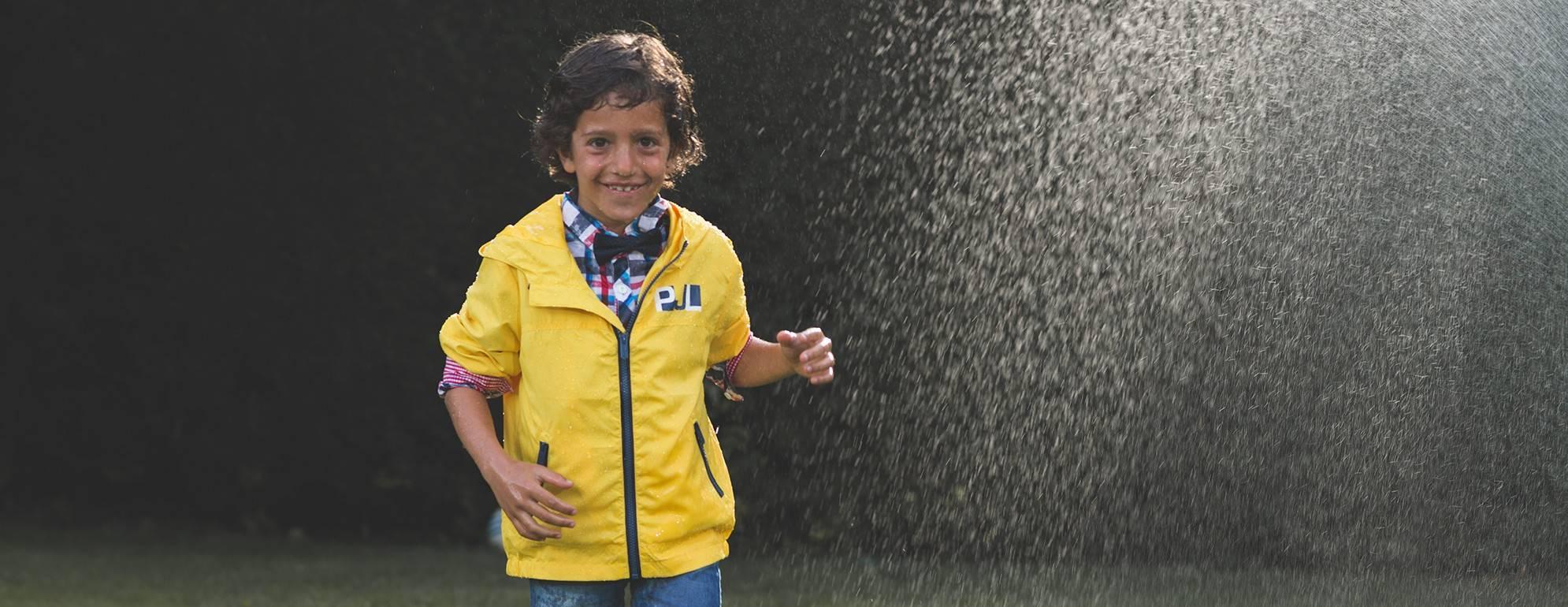 Botas de agua y calzado infantil para la lluvia KoleKole