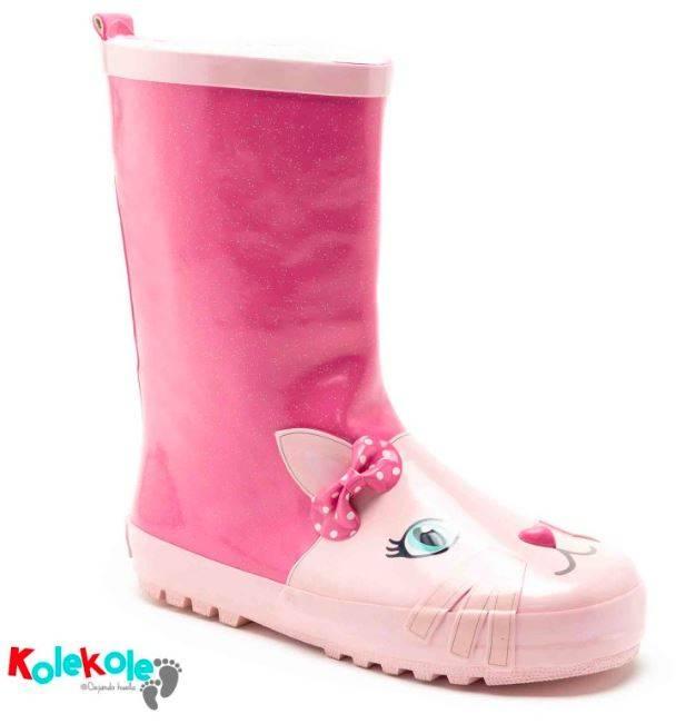 87760b1e467 Sus botas para la lluvia están cuidadas al detalle, garantizando la  comodidad, la calidad y el estilo de las más pequeñas de la casa.