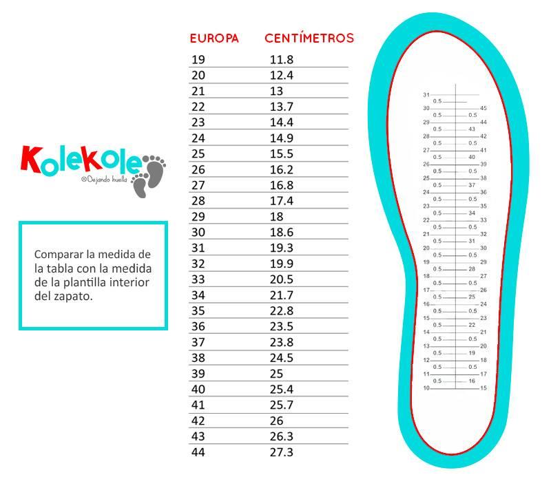 Guía De Tallas Para Niños En Kolekole